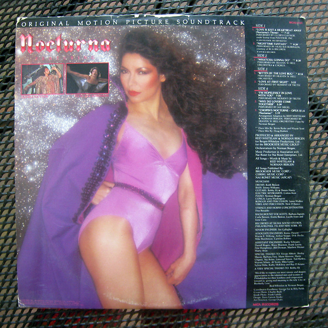 Gloria Gaynor Vicki Sue Robinson Nocturna Soundtrack Mca2